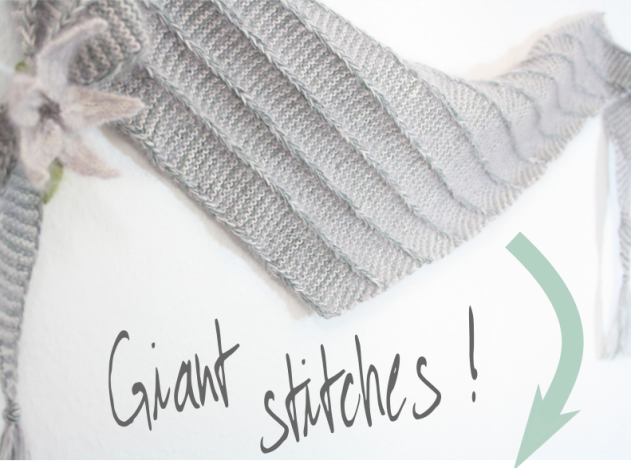 Giant stitches!